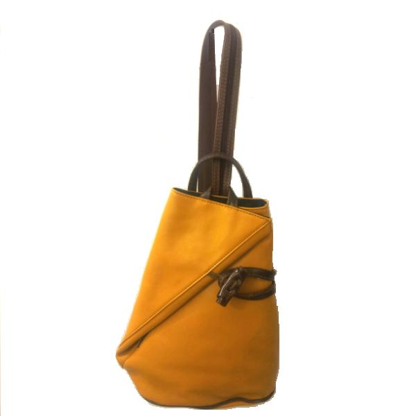 Bolso mochila piel MF 11184