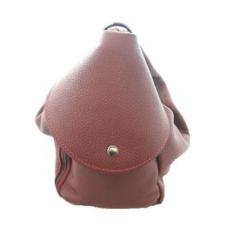 Bolso mochila piel MF 111942 1 Granate
