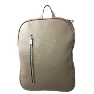 Bolso mochila piel MF 6666 5 Topo