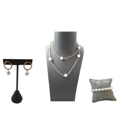 Colecciones 7x7 Perlas Dorado