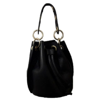 Bolso piel MF 550456 1 Negro